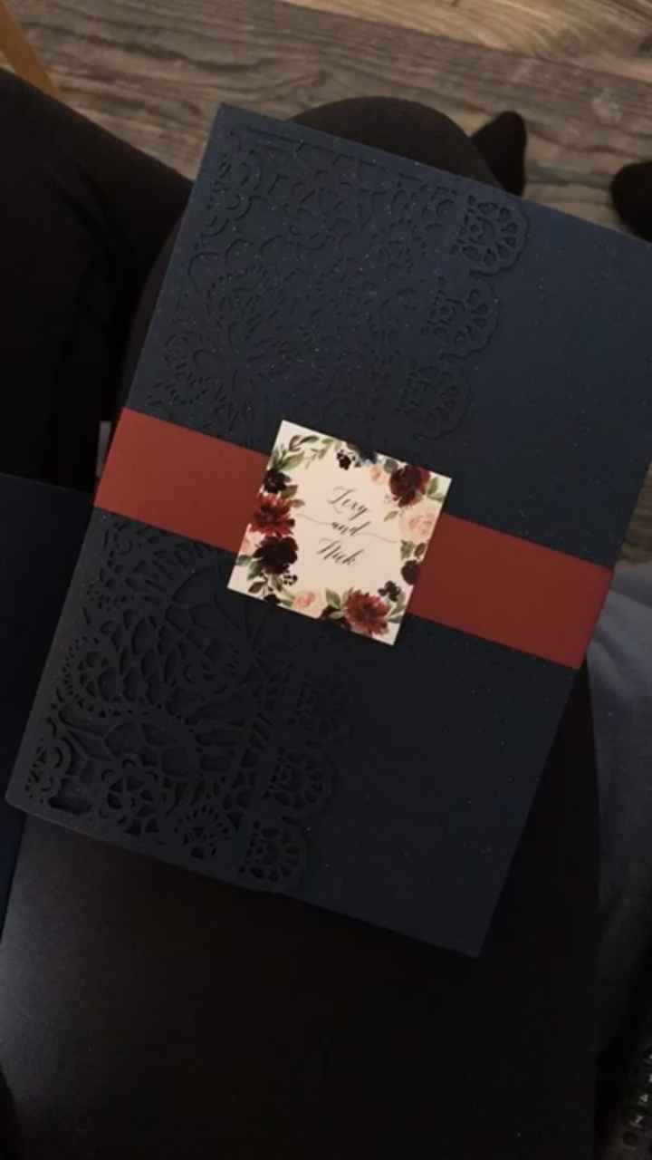 What do your invitations look like? - 3
