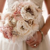 Is anyone using a paper flower bouquet?