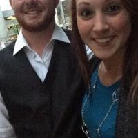 Not our first picture ever, but this is from our first official date!