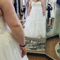 What would you do? Plus sized and need advice as to how to style my gown. - 1
