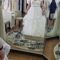 What would you do? Plus sized and need advice as to how to style my gown. - 2