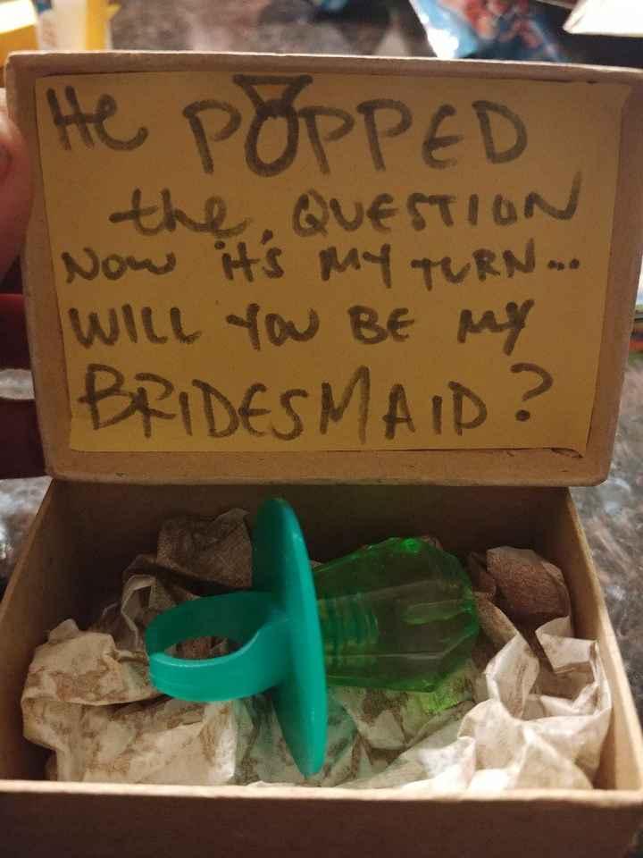 Bridesmaid proposal box? - 1