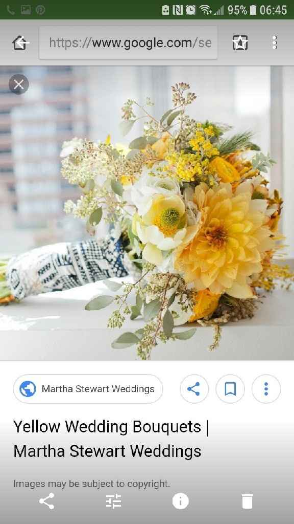 White or colorful bridal bouquet? - 1