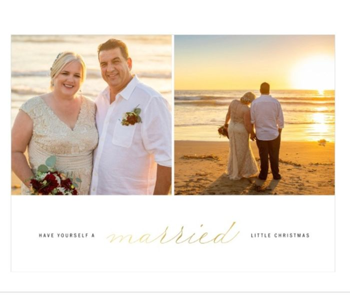 Are you sending holiday cards as a couple? 3
