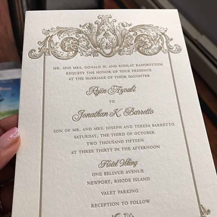Invitation design HELP
