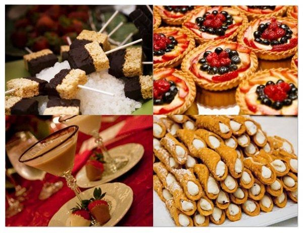 Dessert Only Wedding Reception Weddings Etiquette And Advice