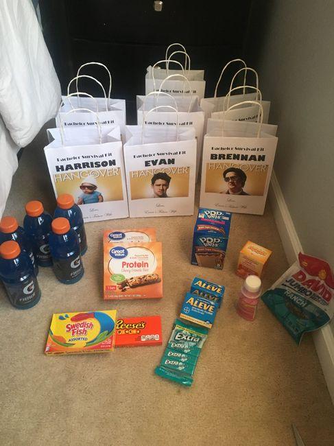 diy Bachelor Survival Kits! - 1