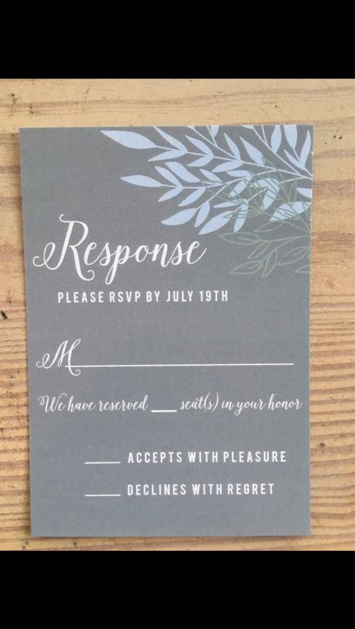 Wedding Invitations Are Going Out! Show Me Yours!!! - 2