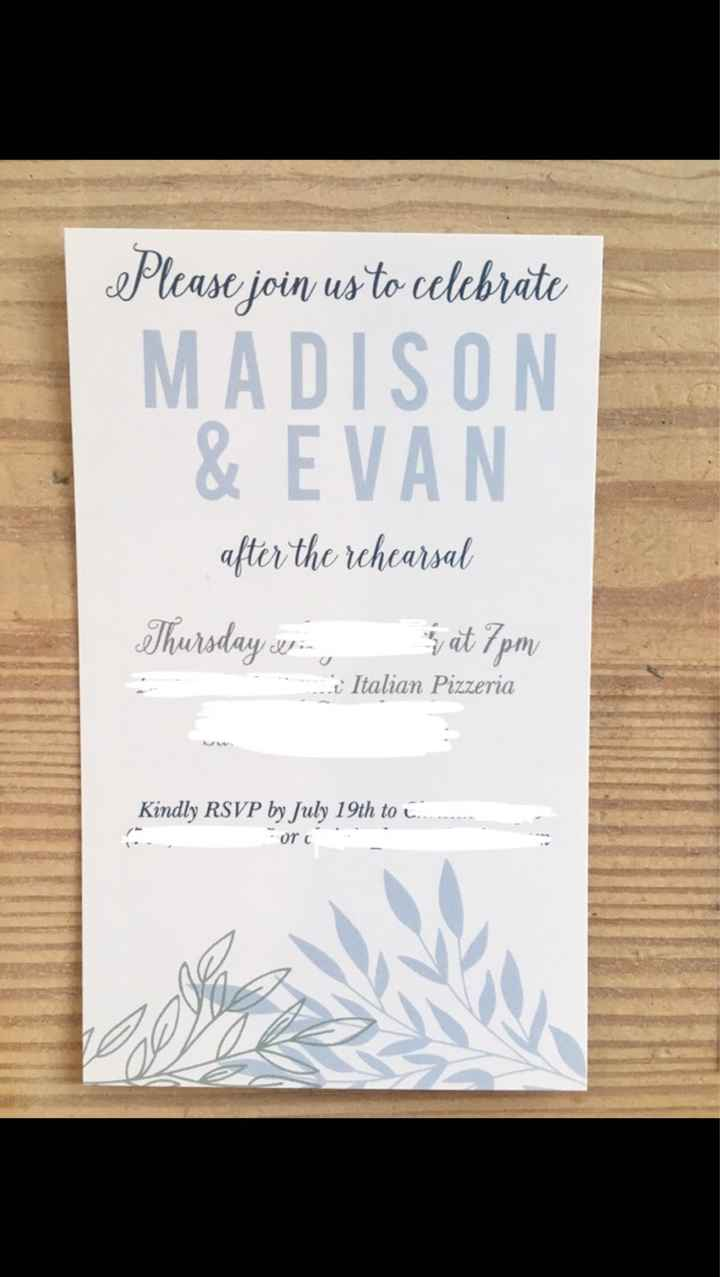 Wedding Invitations Are Going Out! Show Me Yours!!! - 3