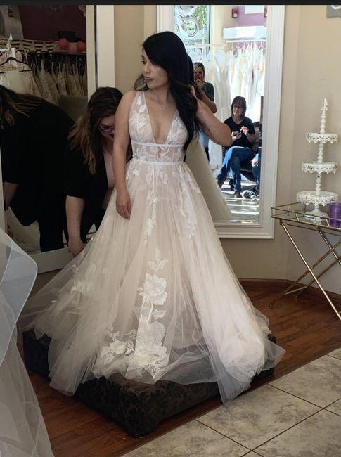 i said yes to the dress!💖 1