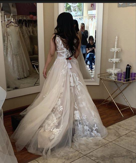 i said yes to the dress!💖 2
