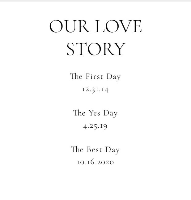 """Wedding Website """"our Story"""" Help 1"""