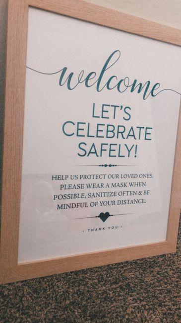 covid wedding sign 1
