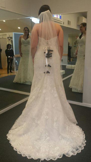 Me vs Model (short bride syndrome) 10
