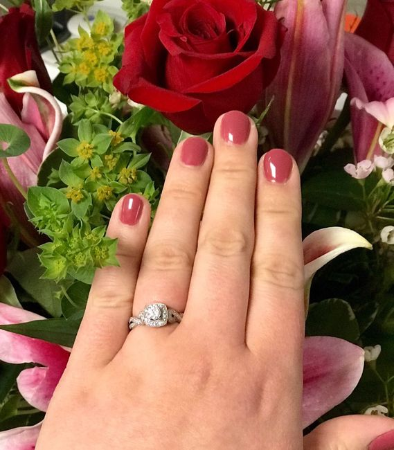 Your Engagement Ring: Total Surprise, Some Input, or Picked it Out Yourself? 6
