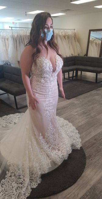 What dress did i choose with only 27 days left?! 2