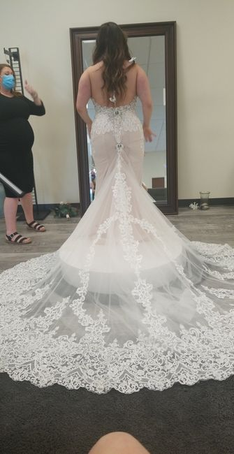 What dress did i choose with only 27 days left?! 3