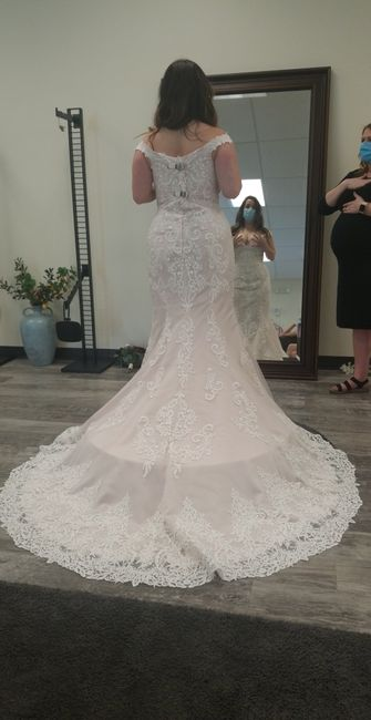 What dress did i choose with only 27 days left?! 4