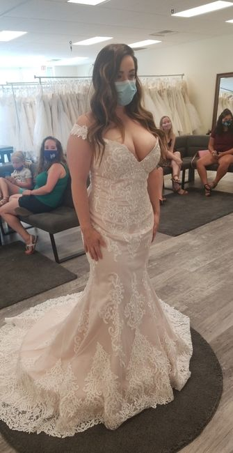 What dress did i choose with only 27 days left?! 5