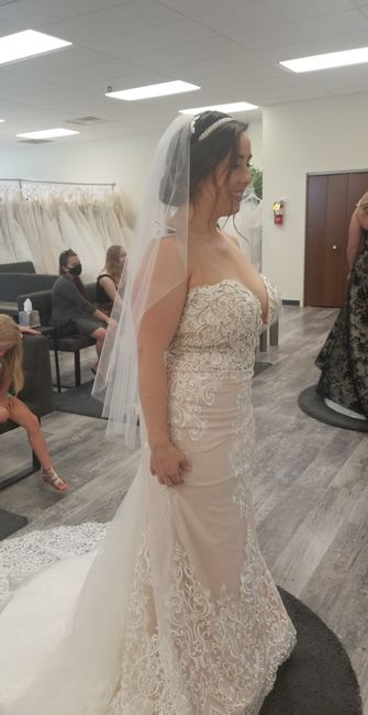 What dress did i choose with only 27 days left?! 8