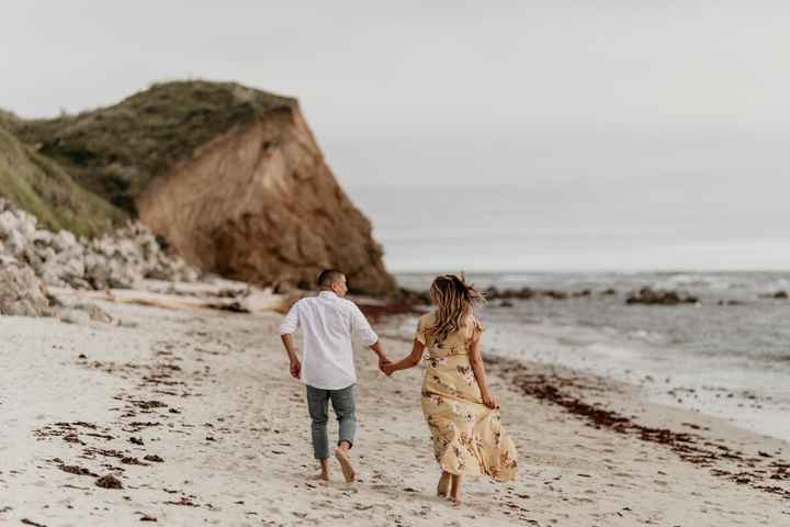 Admidst the Covid-19 panic, post your favorite picture from your engagement shoot. - 3