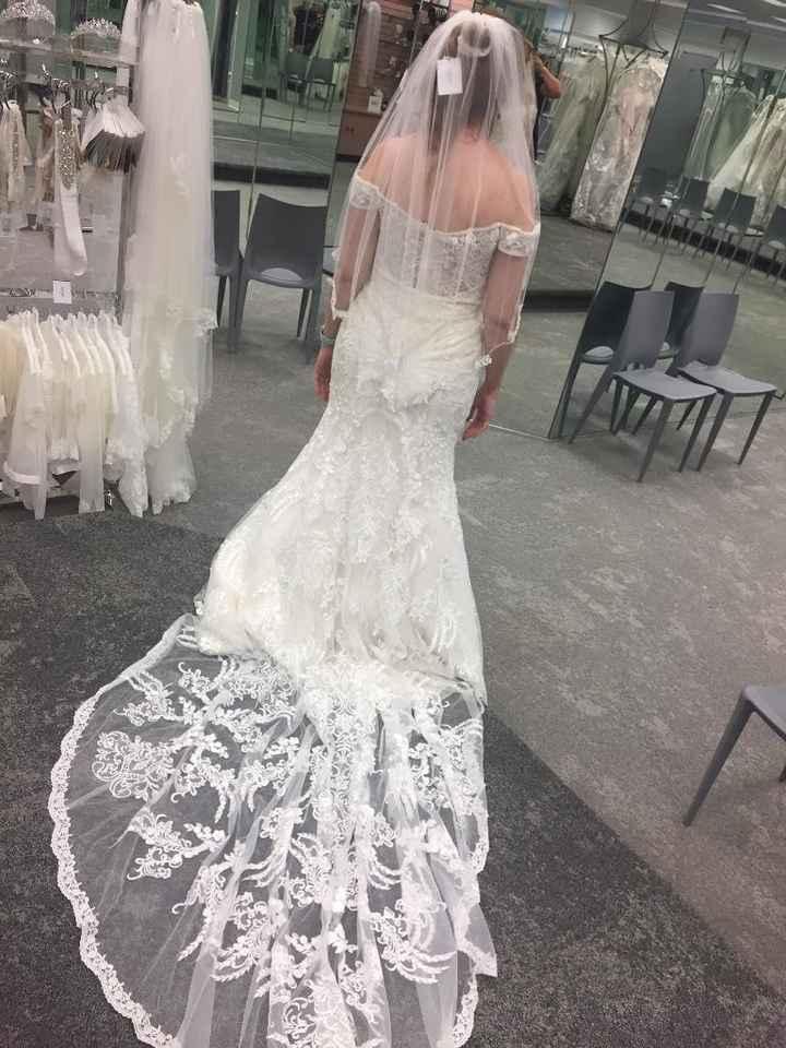 Mermaid/trumpet wedding gowns! 3
