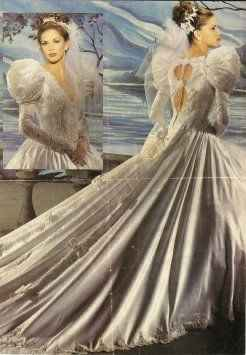 Just for fun...80s and 90s wedding gowns!! 1