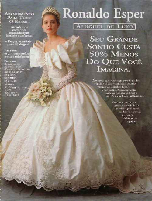 Just for fun...80s and 90s wedding gowns!! 2
