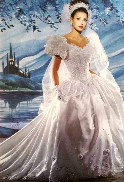 Just for fun...80s and 90s wedding gowns!! 3