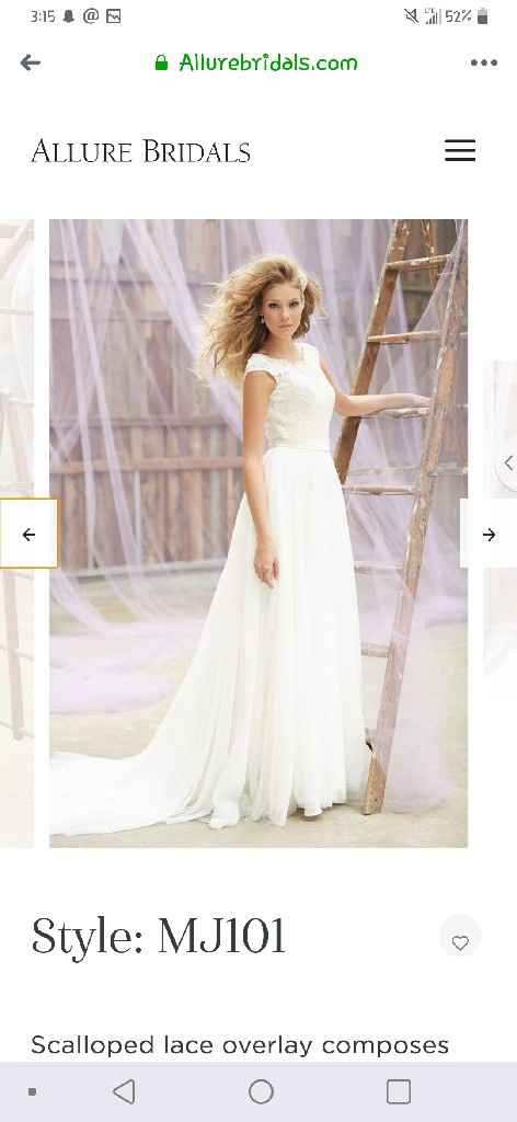 """What is the most important thing when going to try on wedding dresses or deciding on """"the one""""? - 6"""