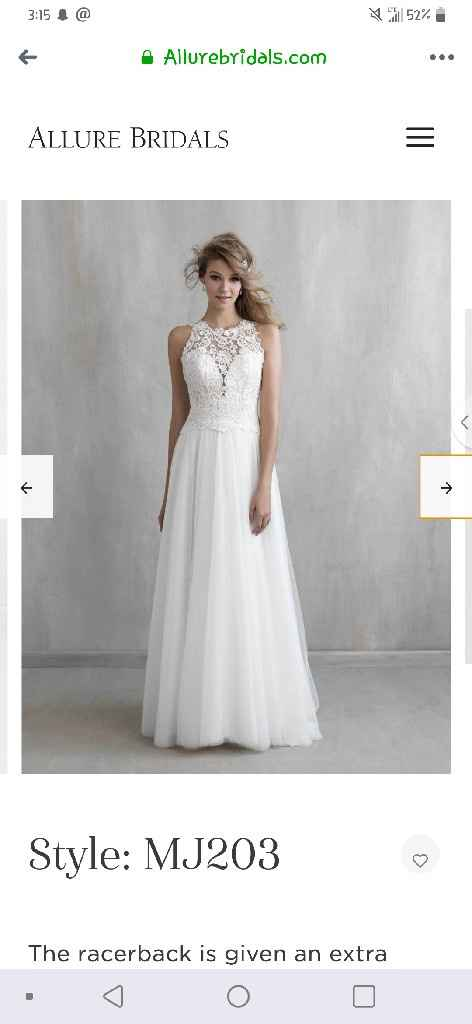"""What is the most important thing when going to try on wedding dresses or deciding on """"the one""""? - 7"""