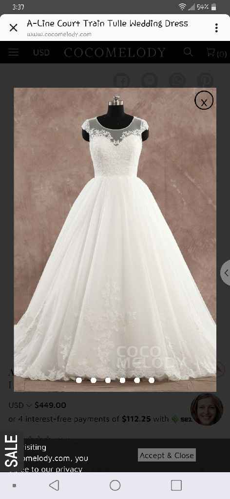 """What is the most important thing when going to try on wedding dresses or deciding on """"the one""""? - 8"""