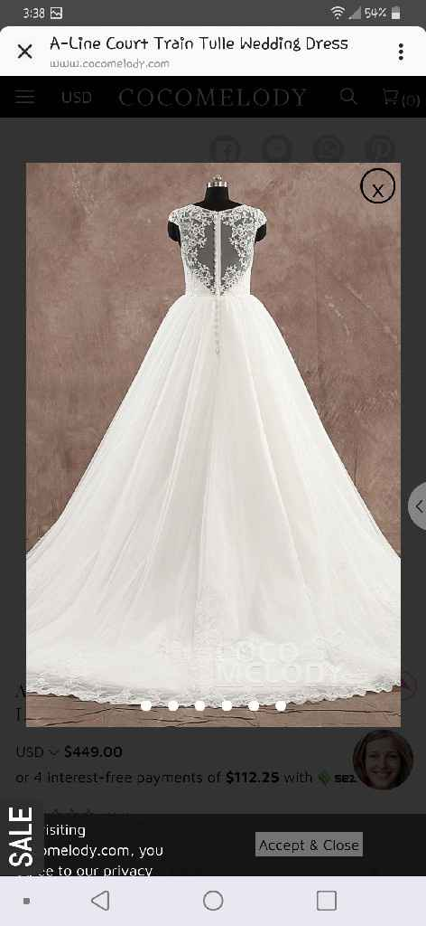 """What is the most important thing when going to try on wedding dresses or deciding on """"the one""""? - 9"""