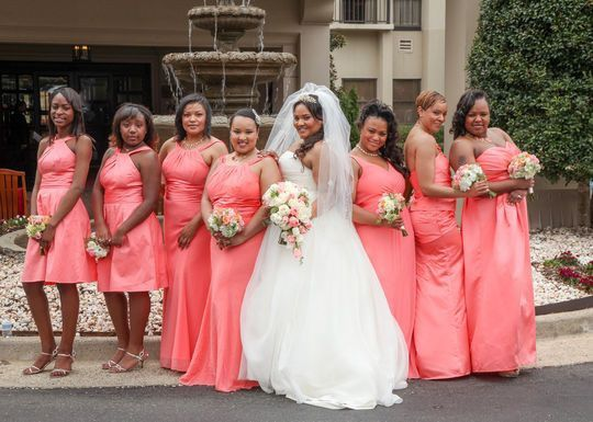 f7eb00ec1cb coral reef Any experience with Corral Reef bridesmaid dresses from David s  Bridal 1