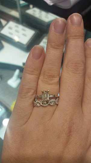 Mismatched rings?