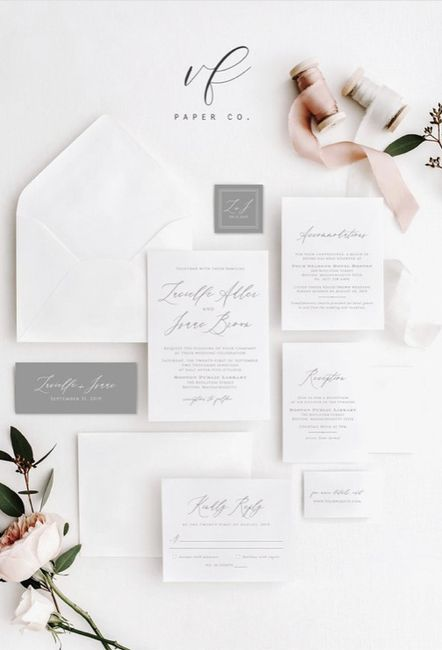 Save the dates And wedding invites 7