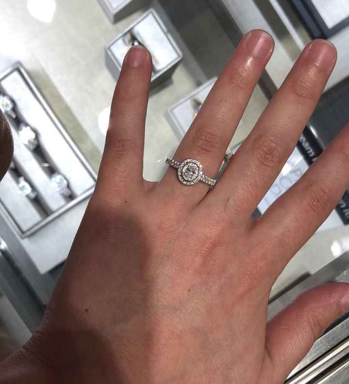 Am i the only one obsessed over my ring ? - 1