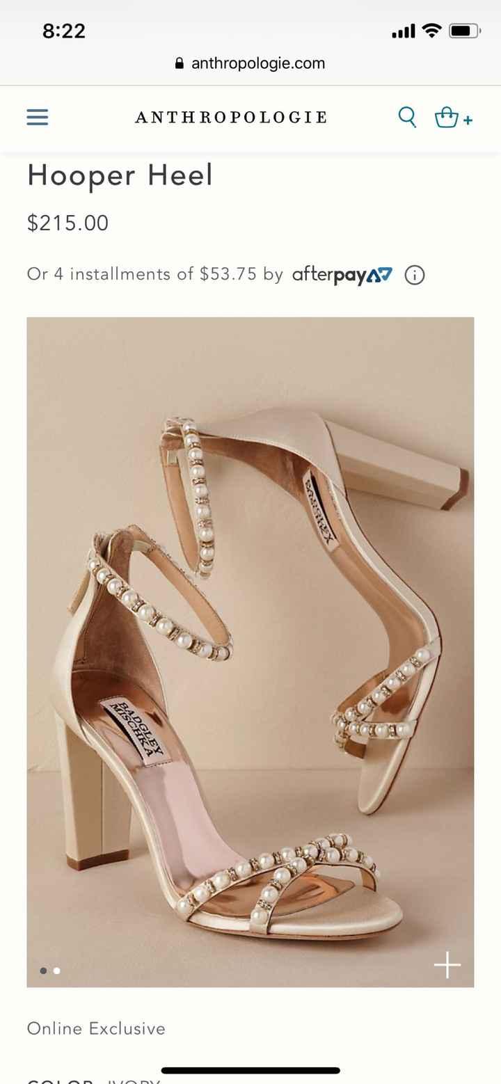 Shoes, Shoes, We want shoes! - 1