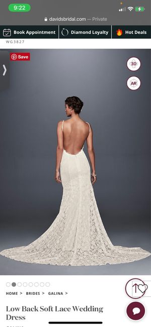 Wedding Dress undergarments 1