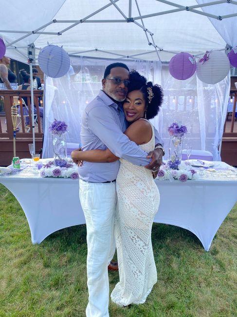 We got married 1