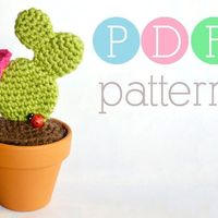 Using my crochet cactus favors as a seating chart.. Catchy phrases?