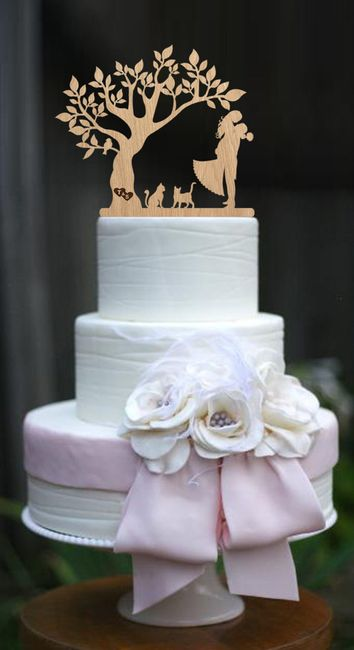 Let me see your cake topper! 3