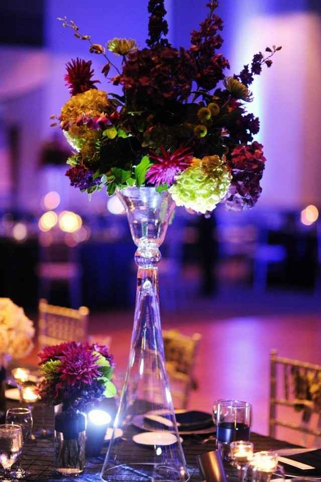 Height of centerpieces