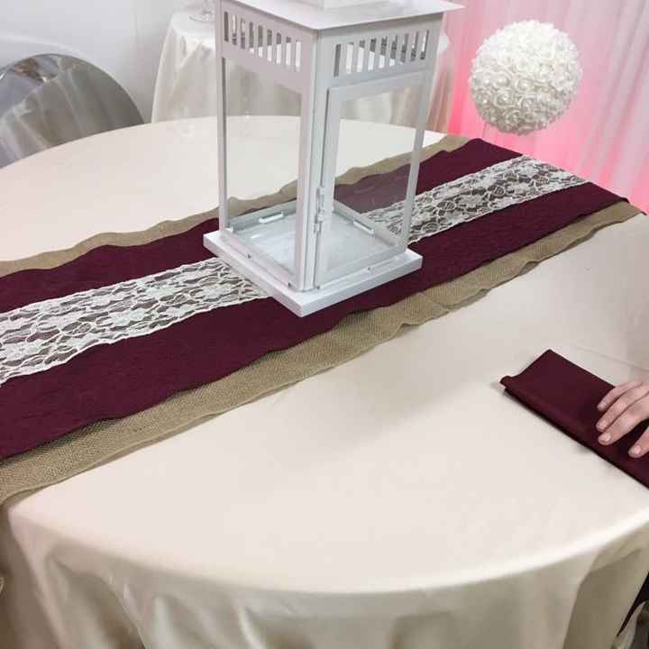 Table linens help