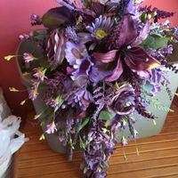 Show me your diy Silk Bouquet with Flowers from the Craft Stores - 1