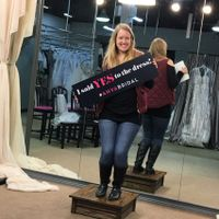 Said yes to the dress!!! - 1