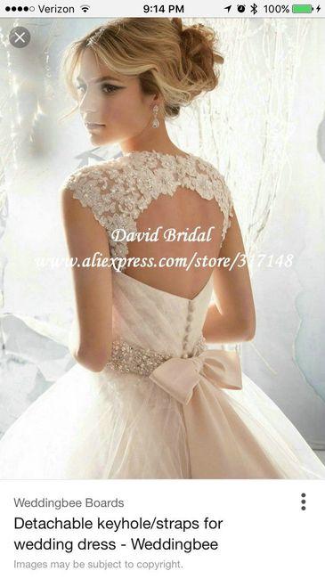 Adding Straps Or Bolero Or Shrug Weddings Wedding Attire