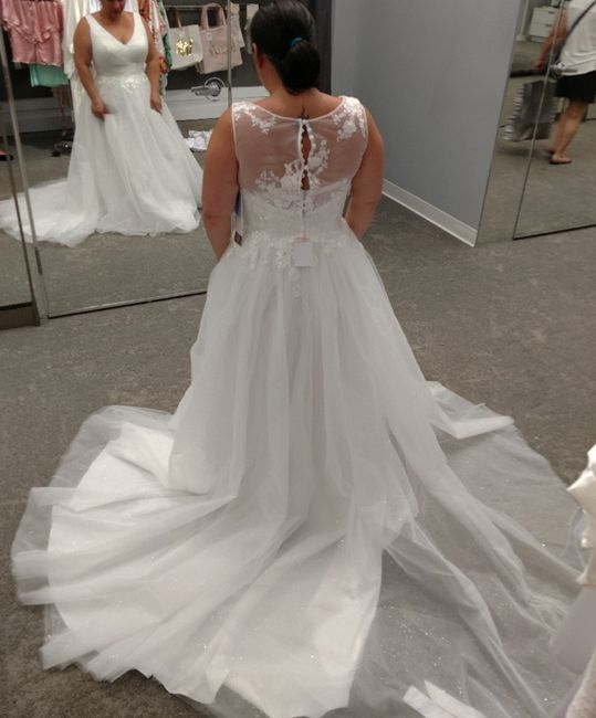 My wedding dress, i absolutely love it, adding sleeves!  Anyone else wearing a ball gown?? 15