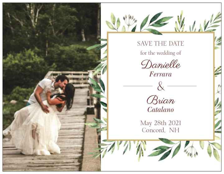 Which save the date! Please help! - 1
