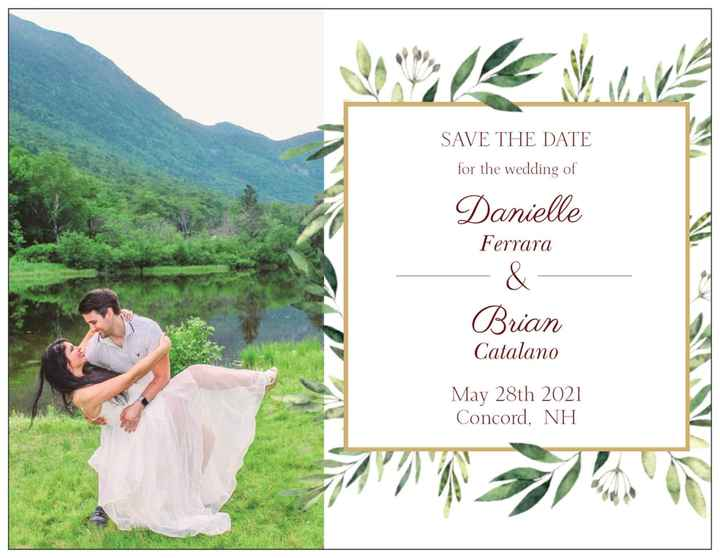 Which save the date! Please help! - 2